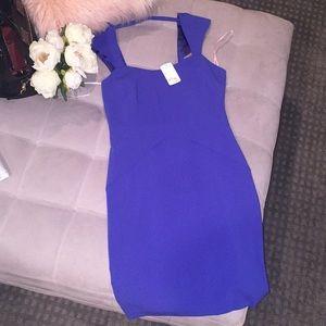 Brand new forever 21 dress royal blue